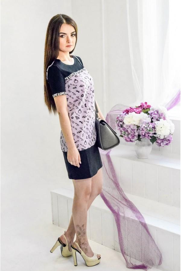 """Платье """"Карина"""" лиловое"""