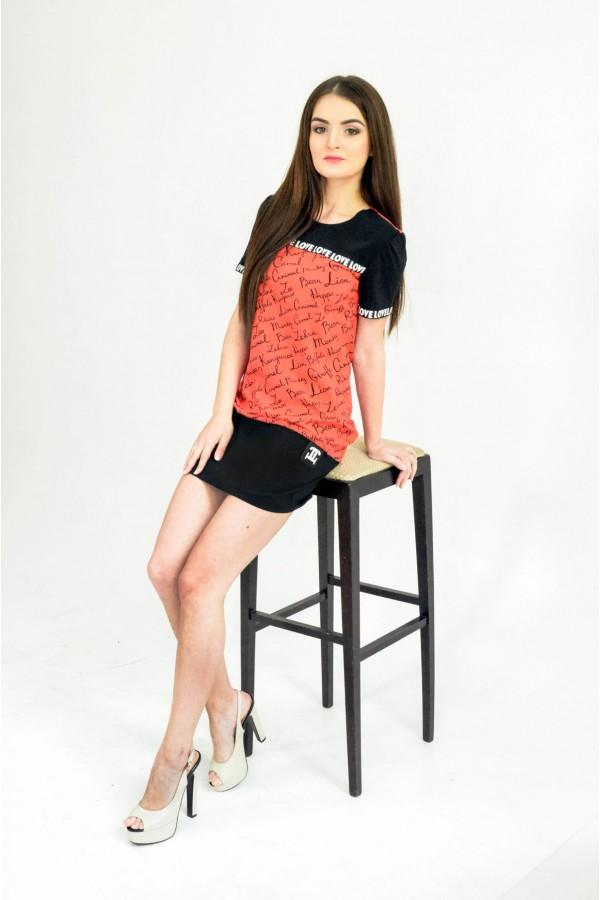 """Платье """"Карина"""" красное"""