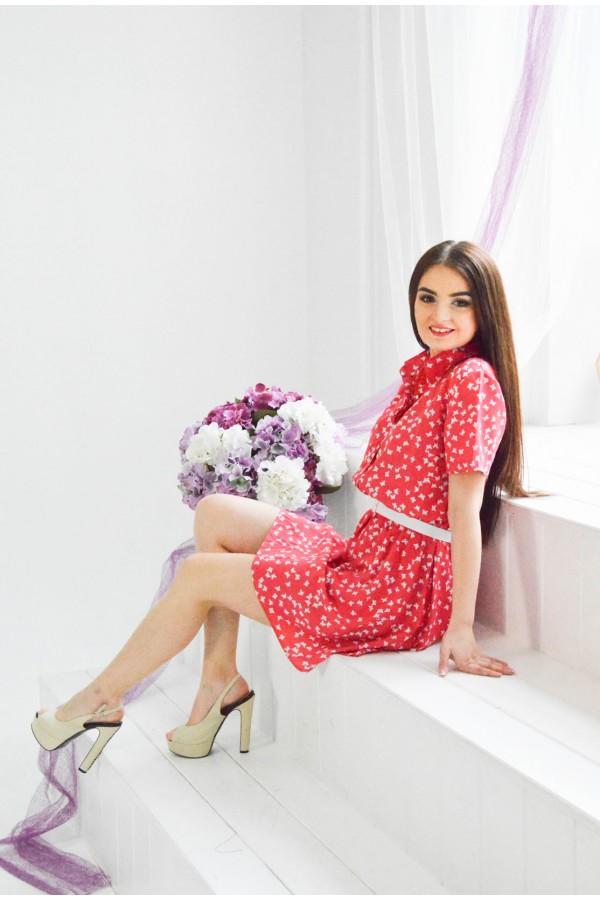 """Платье """"Даша"""" красное"""