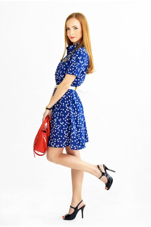 """Платье """"Даша"""" синее"""