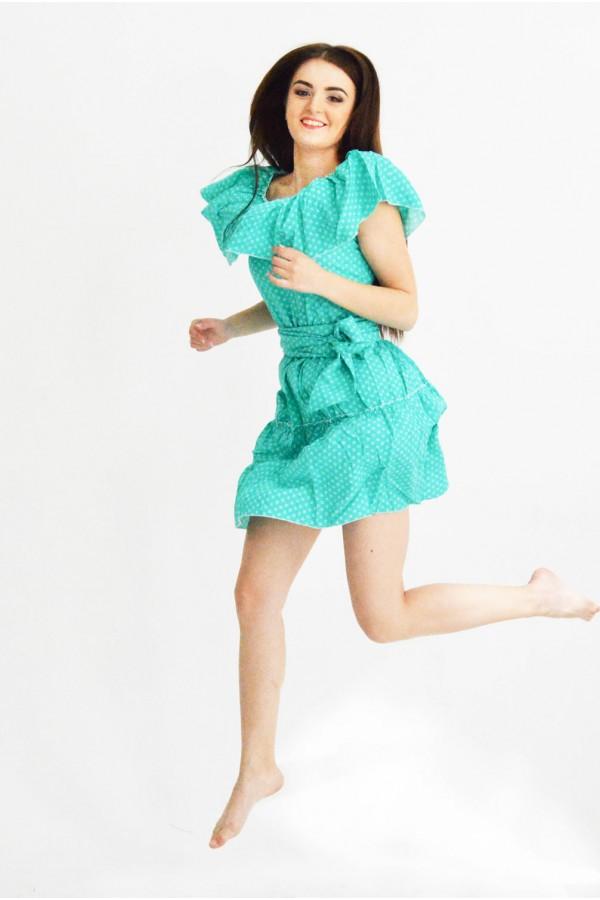 """Платье """"Кармелита"""" бирюзовое"""