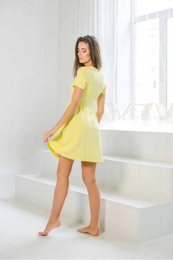 """Платье """"Ксюша"""" лимонное"""