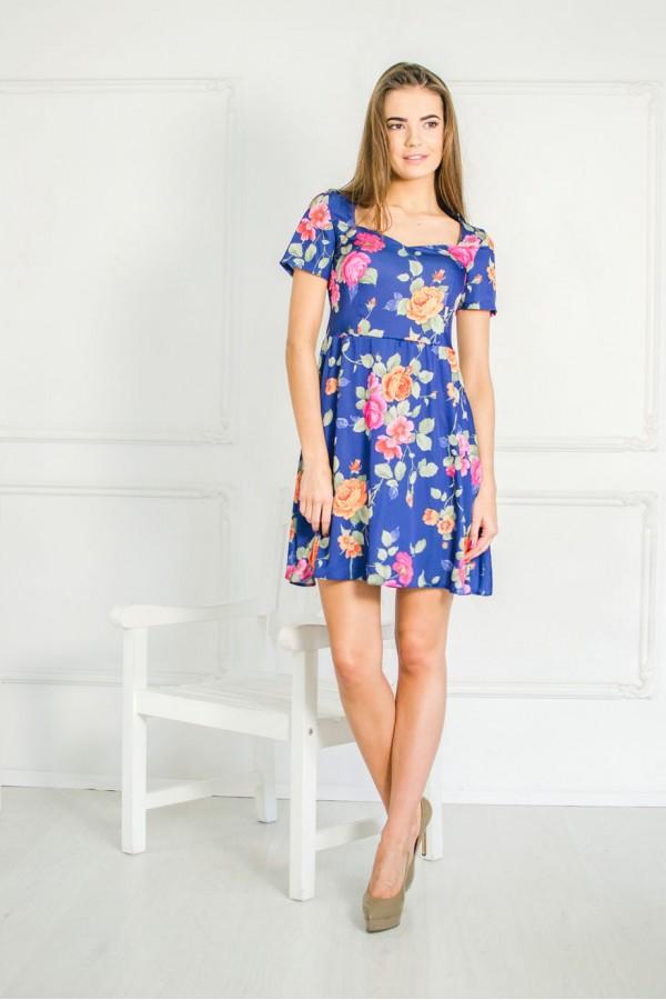 "Платье ""Оксана"" синее"