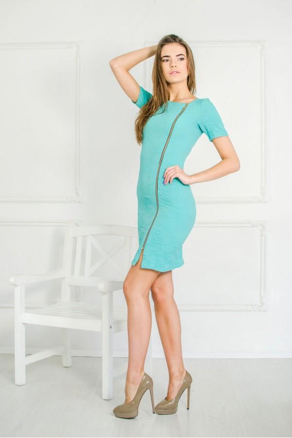 "Платье ""Фаина"" бирюзовое (лето)"