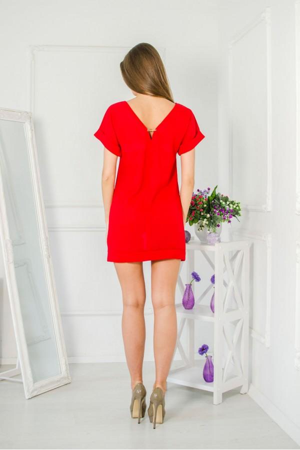 """Платье """"Жанна"""" красное"""