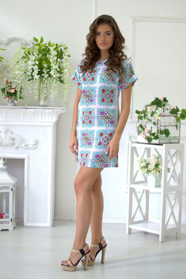 """Платье """"Жанна-Дольче"""" белое"""