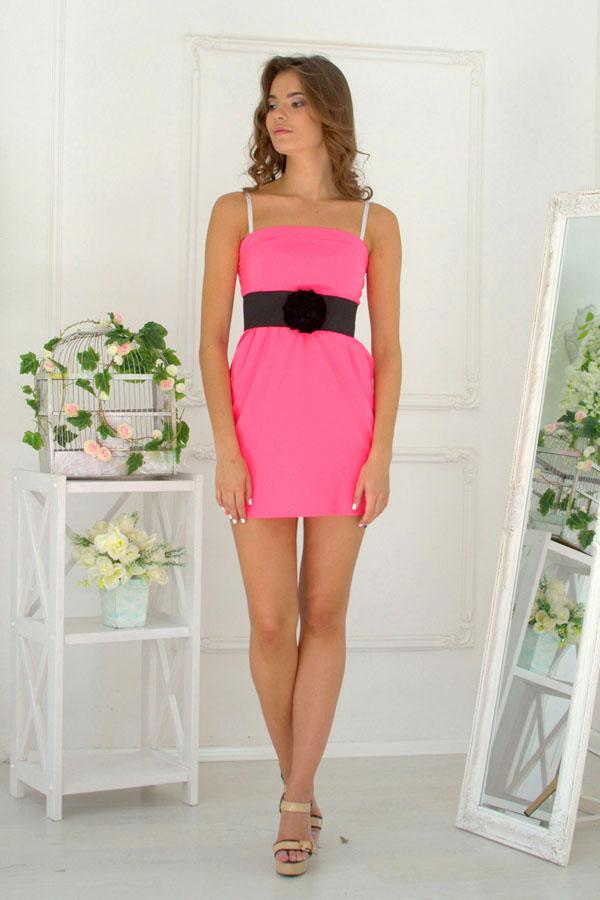 """Платье """"Одесса"""" розовое"""