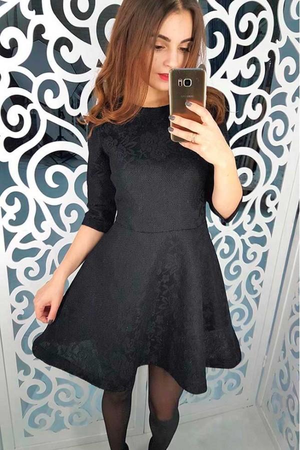 """Платье """"Джесси"""" черное"""