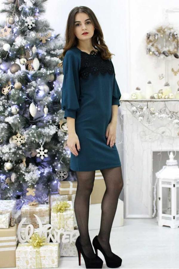 """Платье """"Елена"""" зеленое"""