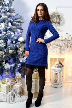 """Платье """"Ангелина"""" синее"""