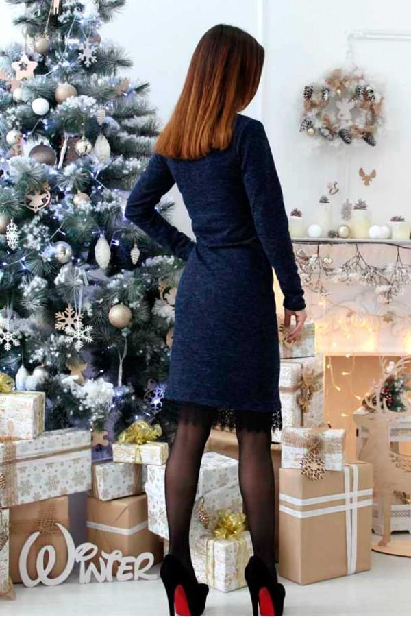 "Платье ""Ангелина"" темно-синее"