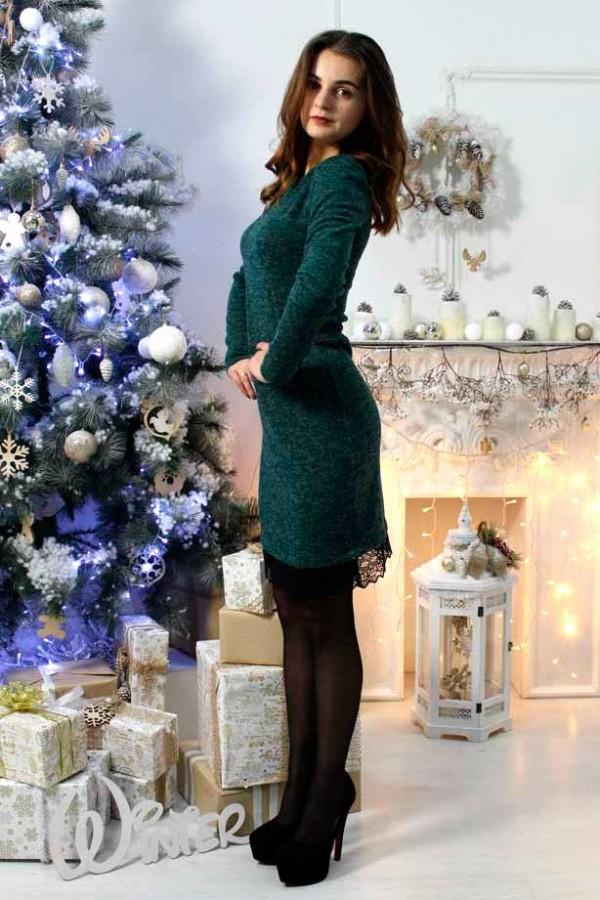 "Платье ""Ангелина"" зеленое"