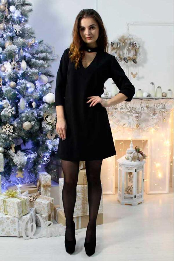 """Платье """"Анжела"""" черное"""