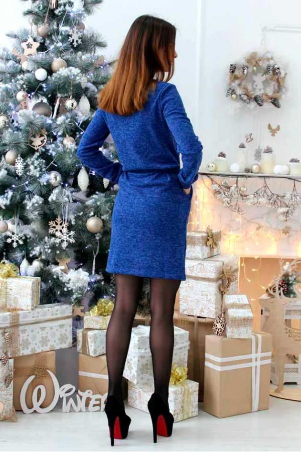 """Платье """"Эшли"""" синее"""