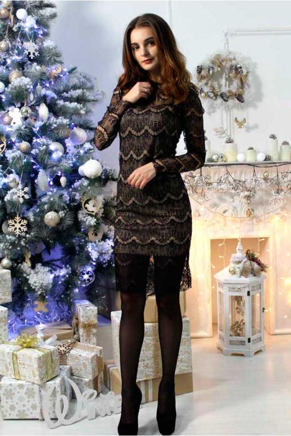 """Платье """"Риана"""" черное"""