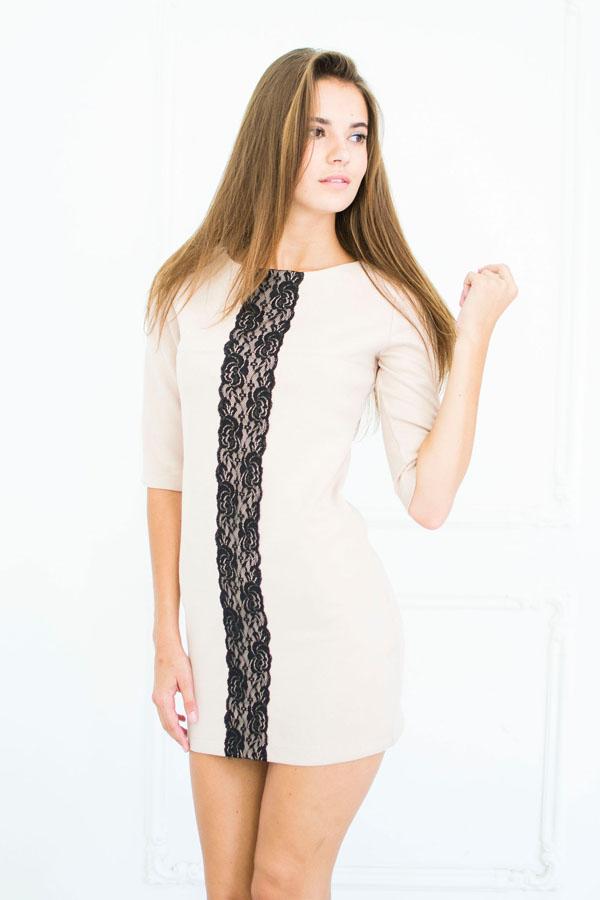 """Платье """"Аля"""" молочное"""