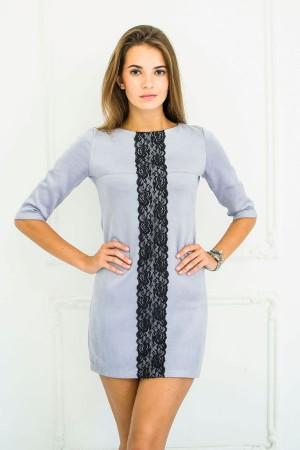 Серое платье доставка