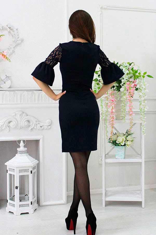 """Платье """"Ника"""" черное"""