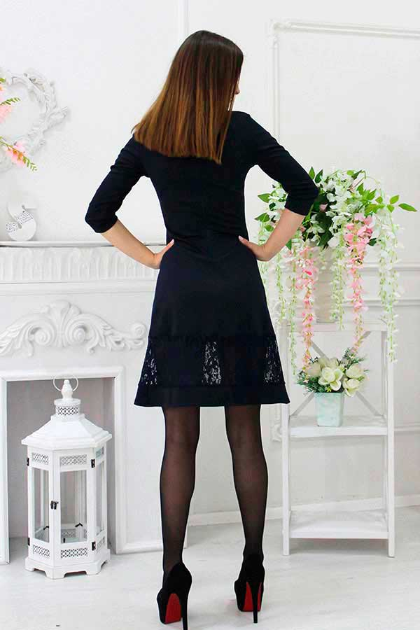 """Платье """"Рэт"""" черное"""