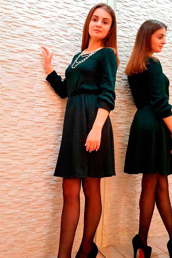 """Платье """"Люба"""" бутылка"""