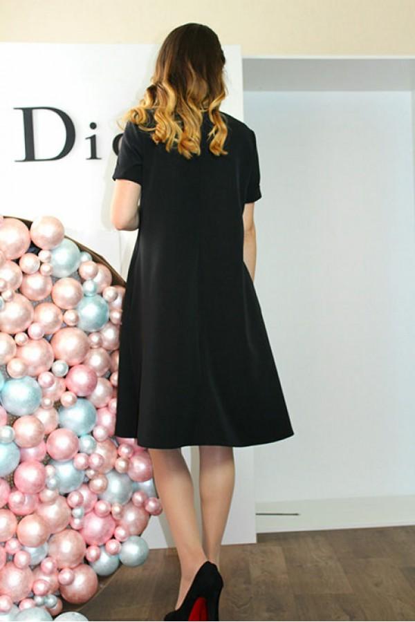 """Платье """"Бетти"""" черное"""