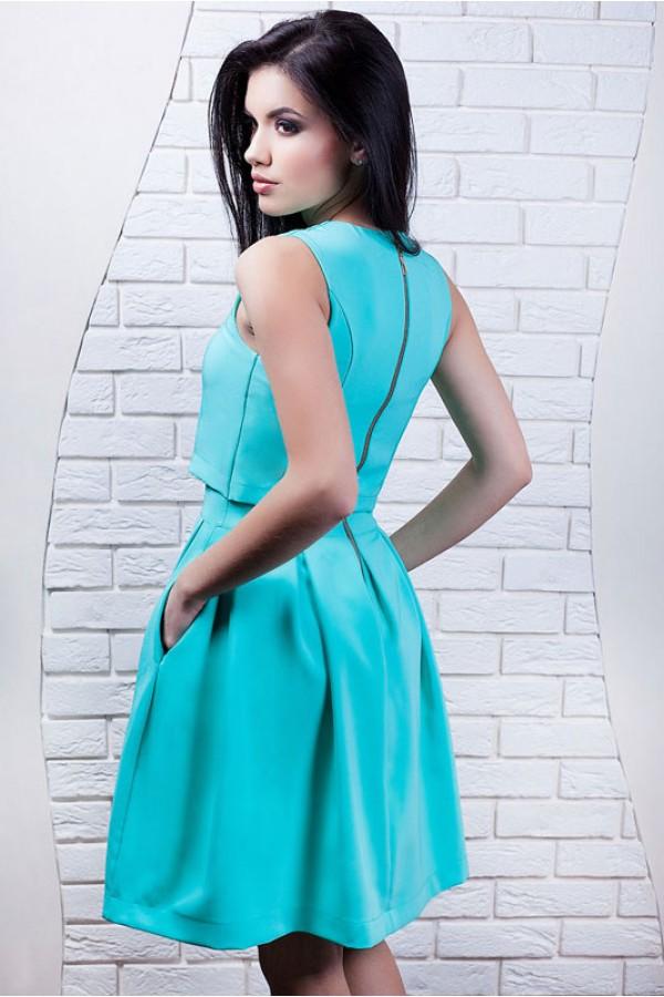 "Платье ""Инга"" бирюзовое"