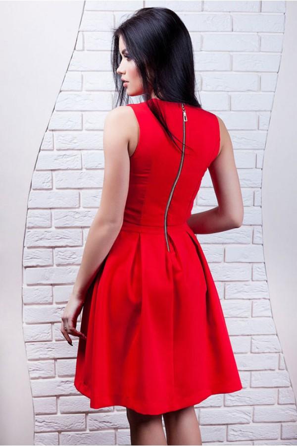 """Платье """"Инга"""" красное"""