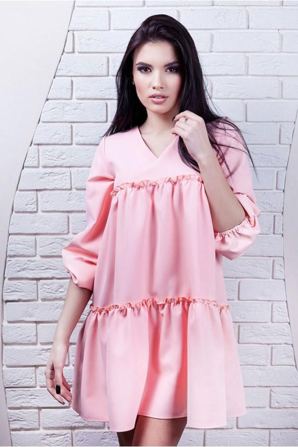 """Платье """"Марта"""" розовое"""