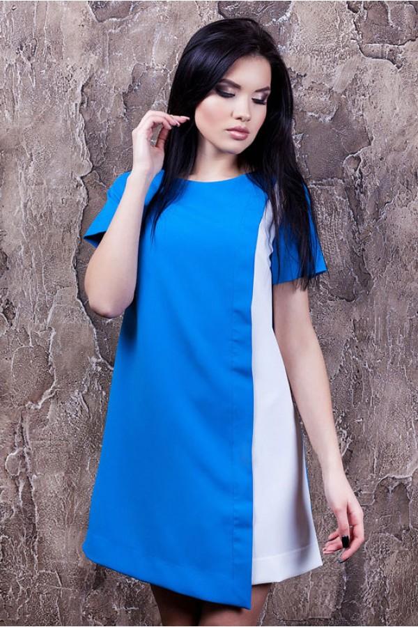 """Платье """"Виолетта"""" голубое"""