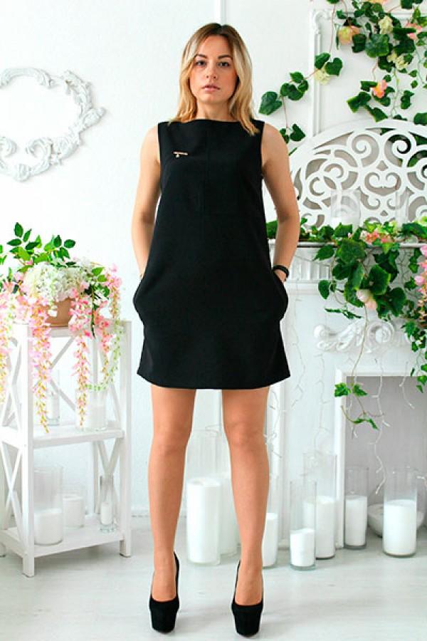 """Платье """"Блэк"""" черное"""