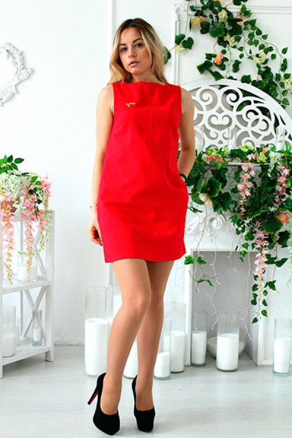 """Платье """"Блэк"""" красное"""