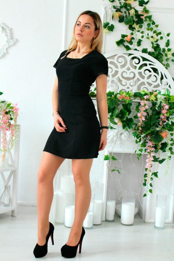 """Платье """"Ева"""" черное"""