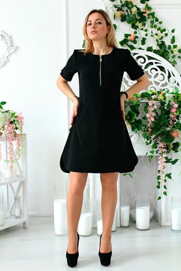 """Платье """"Лика-2"""" черное"""