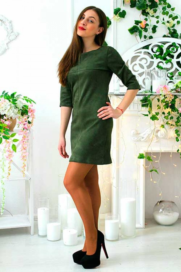 "Платье ""Лаура"" зеленое"