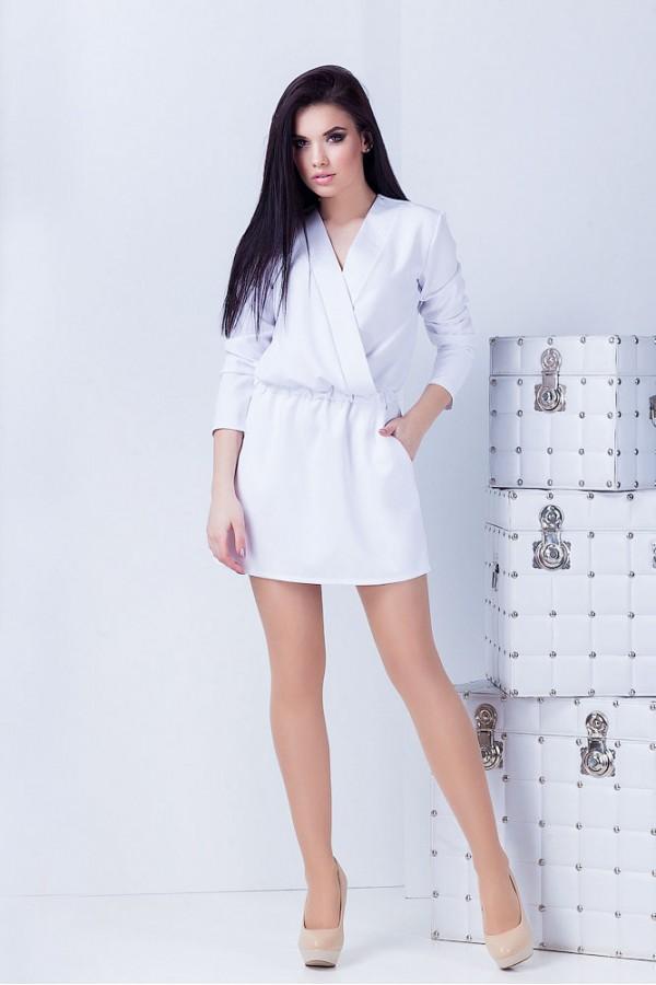 Платье Юля белое